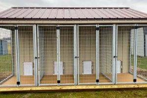 Hallmark Buildings Central Indiana Dog Kennels