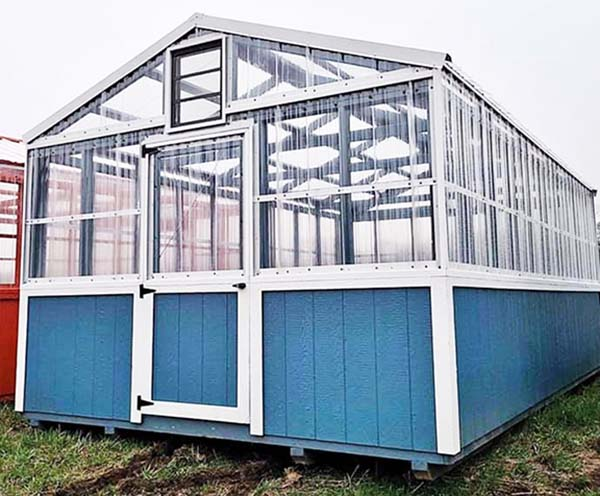 Hallmark Buildings of Central Indiana Greenhouses